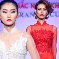 Chân dài Việt duyên dáng với thời trang cưới