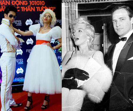 Những màn hóa Marilyn Monroe Việt gây tranh cãi - 10