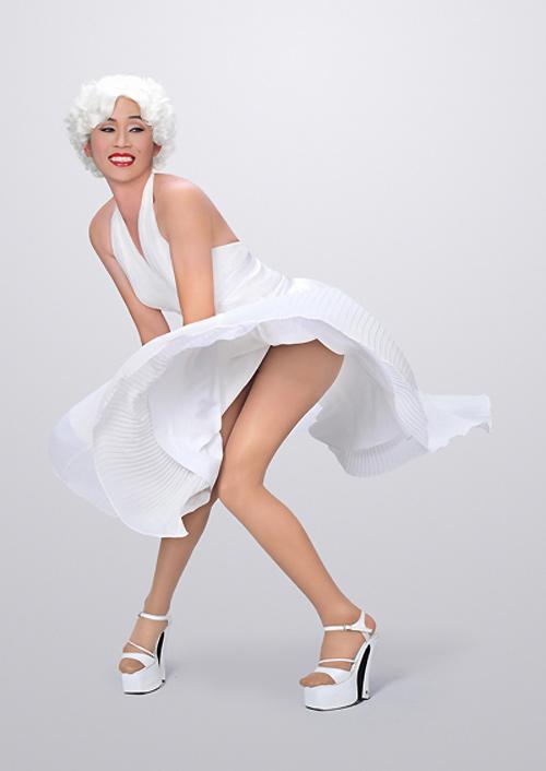 Những màn hóa Marilyn Monroe Việt gây tranh cãi - 17