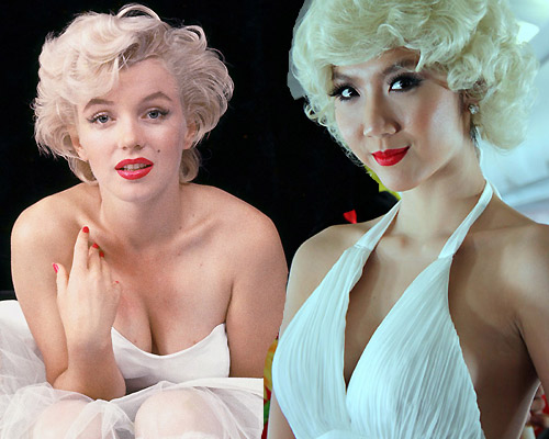 Những màn hóa Marilyn Monroe Việt gây tranh cãi - 7