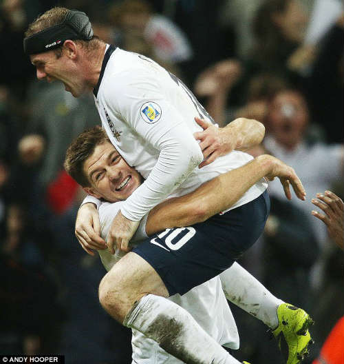 Rooney tiếp quản băng đội trưởng tuyển Anh - 1