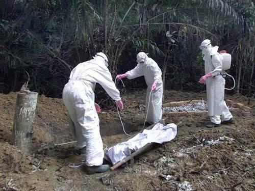 Hai ngày, hơn 100 người tử vong do virus Ebola - 1