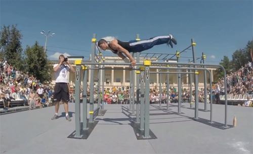 10 kỹ thuật tuyệt đỉnh môn thể dục đường phố - 3