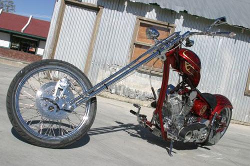 Merc Softail - Chiếc chopper kinh điển - 2
