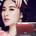 Thời trang - Angela Phương Trinh bị tố dùng túi Chanel nhái