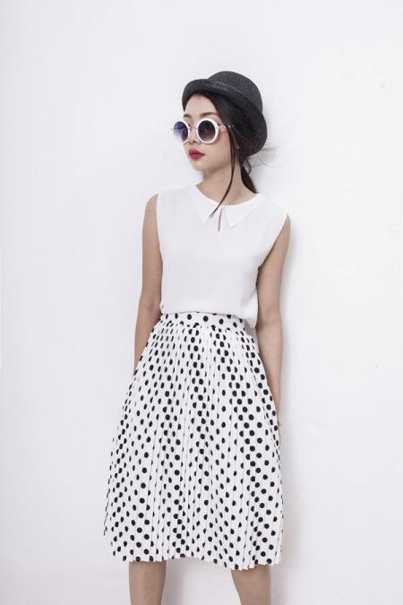 Xinh tươi với váy áo vintage đón khúc giao mùa - 4