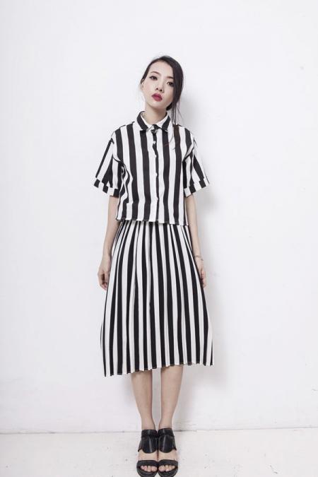Xinh tươi với váy áo vintage đón khúc giao mùa - 5