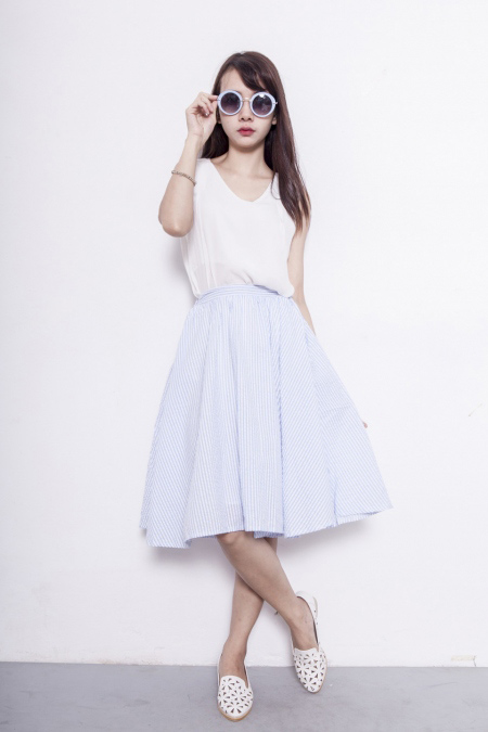 Xinh tươi với váy áo vintage đón khúc giao mùa - 9