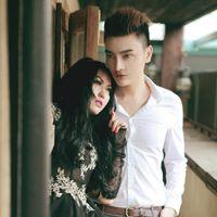 Phi Thanh Vân bầu 5 tuần chụp hình cùng hot boy
