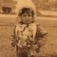 Lý Nhã Kỳ tạo dáng sành điệu từ lúc 5 tuổi