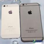 Thời trang Hi-tech - HOT: Ảnh thực tế iPhone 6 đọ dáng iPhone 5