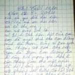 An ninh Xã hội - Lá thư tuyệt mệnh của người giết vợ hờ rồi tự tử ở Sài Gòn