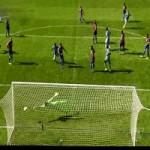 Video bàn thắng - Cú vô lê từ ngoài vòng 16m50 đẹp nhất vòng 2 NHA