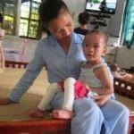 Tin tức trong ngày - Chùm ảnh: Cuộc sống mới của bé Tâm Anh chùa Bồ Đề