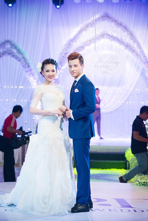Minh Hằng xinh đẹp ngọt ngào tại Hà Nội - 14