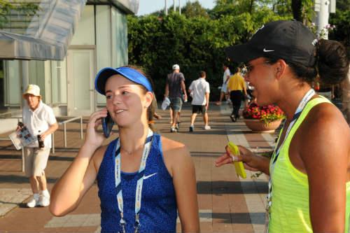 Cập nhật US Open ngày 2: Tay vợt 15 tuổi gây chấn động - 2