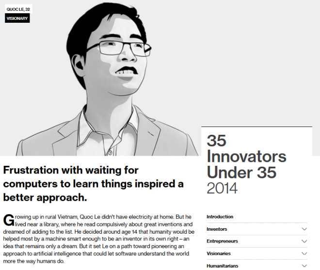 8X Việt đầu tiên nhận giải sáng tạo trẻ toàn cầu - 1