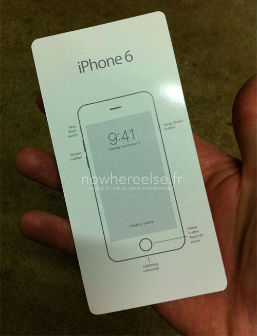 Apple nâng cấp cả hộp đựng iPhone 6 - 1
