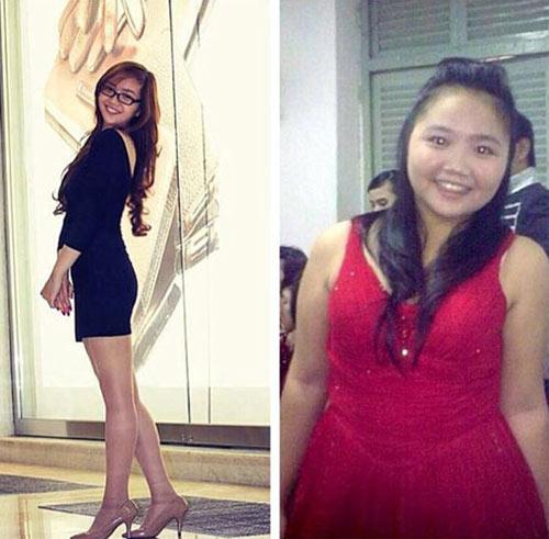 Thiếu nữ Việt xinh đẹp, gợi cảm bất ngờ nhờ giảm béo - 1