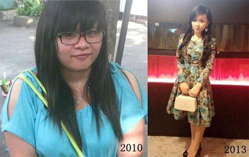 Thiếu nữ Việt xinh đẹp, gợi cảm bất ngờ nhờ giảm béo - 5