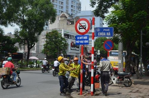 Sau nghỉ lễ 2/9, HN cấm ô tô tuyến Xuân Thủy-Cầu Giấy - 5
