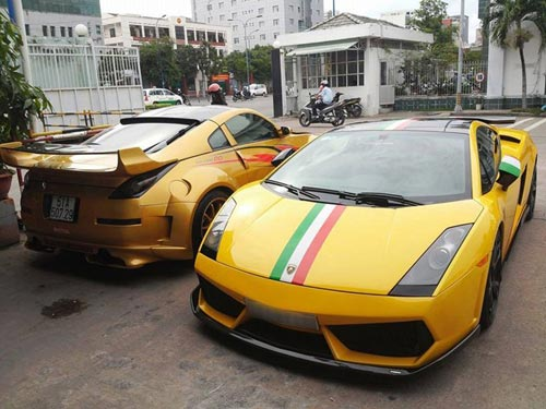 Lamborghini Aventador của Minh nhựa tái xuất ở Sài Gòn - 2