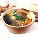 Ẩm thực - Đậm đà cá rô kho nghệ