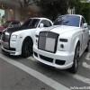 Bộ ba siêu xe độ màu trắng tuyệt đẹp trên phố