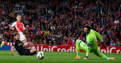 TRỰC TIẾP Arsenal – Besiktas: Căng thẳng (KT) - 3