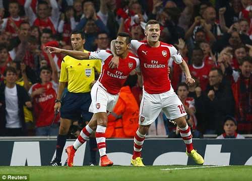 Arsenal - Besiktas: Nghẹt thở đến phút cuối - 1