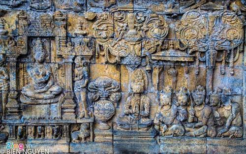 Đền thờ Phật giáo lớn nhất thế giới tại Indonesia - 10