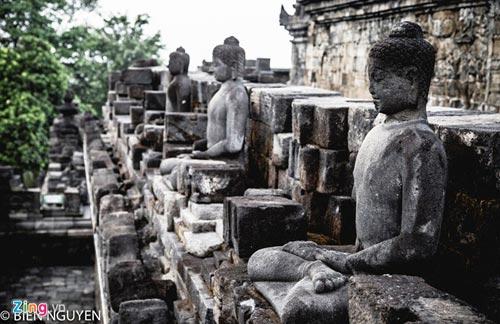 Đền thờ Phật giáo lớn nhất thế giới tại Indonesia - 11