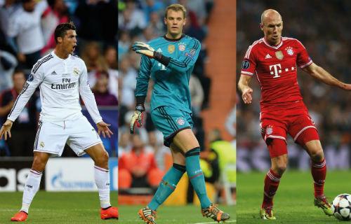 Cầu thủ số 1 châu Âu: Ronaldo có thắng Robben, Neuer? - 1