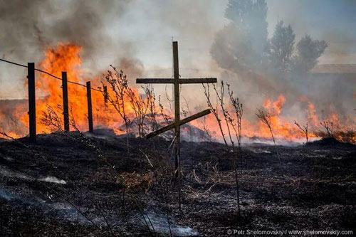 Lính Nga-Ukraine giao chiến dữ dội ở thị trấn biên giới - 1