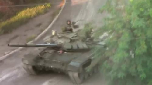 Lính Nga-Ukraine giao chiến dữ dội ở thị trấn biên giới - 2