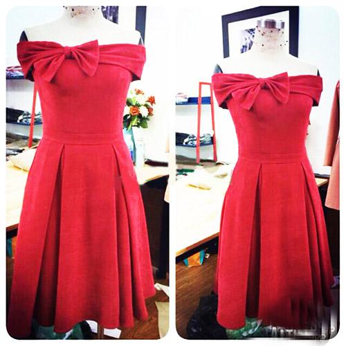 Váy nơ to bản như sao hấp dẫn chị em Việt - 6