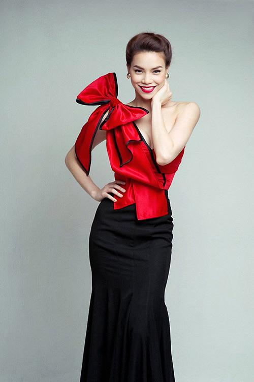 Váy nơ to bản như sao hấp dẫn chị em Việt - 3
