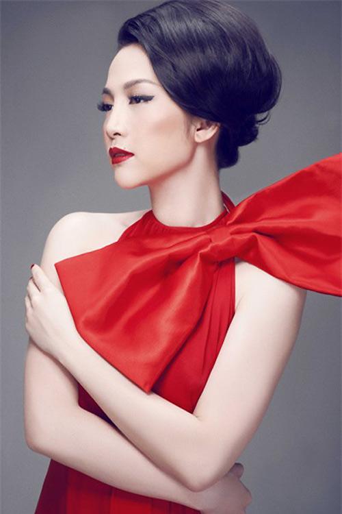 Váy nơ to bản như sao hấp dẫn chị em Việt - 2
