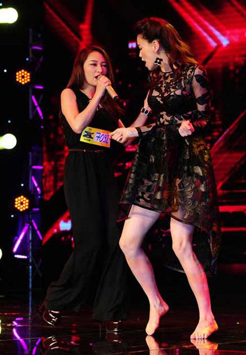 """7 lần Hà Hồ """"ghi điểm"""" với ngoại hình ở X-Factor - 7"""