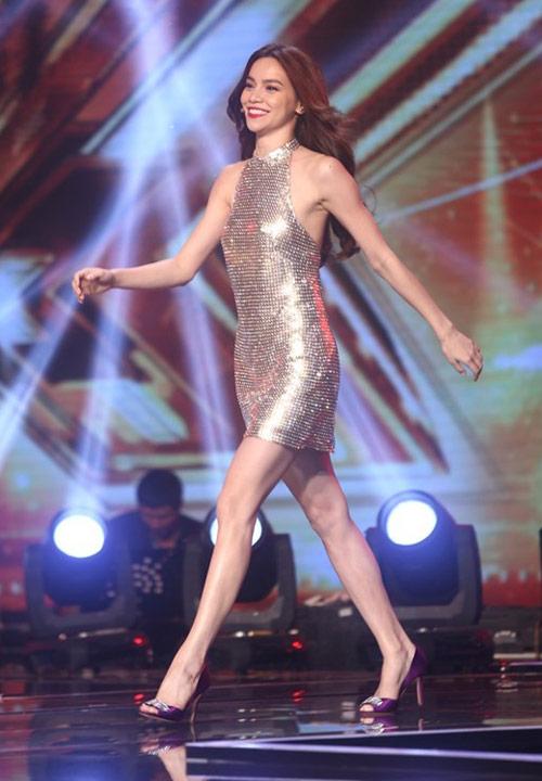 """7 lần Hà Hồ """"ghi điểm"""" với ngoại hình ở X-Factor - 5"""