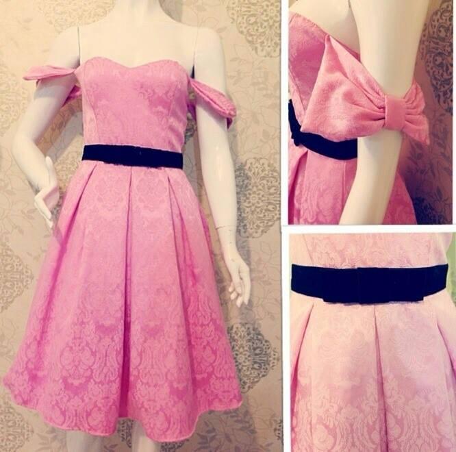 Váy nơ to bản như sao hấp dẫn chị em Việt - 7