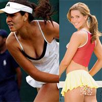 Vận động viên tennis ngày càng sexy và phong cách