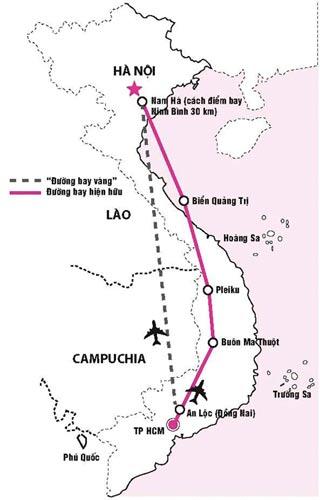 29/8, bay thử nghiệm đường bay thẳng Hà Nội - TP HCM - 1