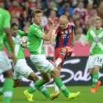 Video bàn thắng - Robben ghi bàn tinh tế top 5 bàn đẹp Bundesliga V1