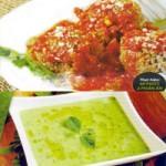 Ẩm thực - Chả viên chay và súp đậu Hà Lan bạc hà