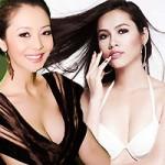 Làm đẹp - Thềm ngực căng tròn hút mắt của các hoa hậu Việt