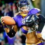 Thể thao - Ẩu đả giữa các nữ cầu thủ bóng bầu dục