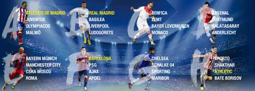 Vòng bảng Cup C1 2014/15: Oan gia ngõ hẹp - 3