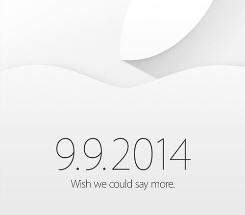 Apple chính thức gửi thư mời sự kiện ra mắt iPhone 6 - 1