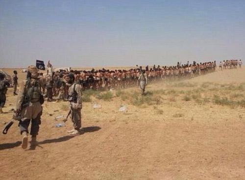 Phiến quân IS lột truồng, xử tử 250 binh sĩ Syria - 1